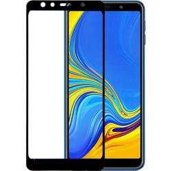 Προστασία Οθόνης Samsung A7(2018) Full Cover Black