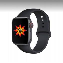 Apple Watch λουράκι 42/44mm Mαύρο