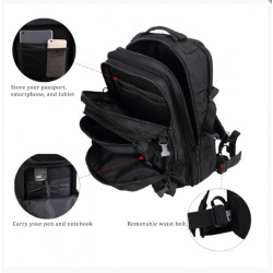 Backpack Commando Μαύρο
