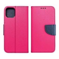 Fancy Book θήκη για APPLE IPHONE X Ροζ/Μπλε