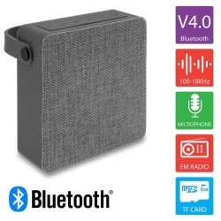 Bluetooth Ηχείο Φορητό HS Γκρι