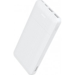 POWERBANK HOCO Λευκό 10.000 MAH