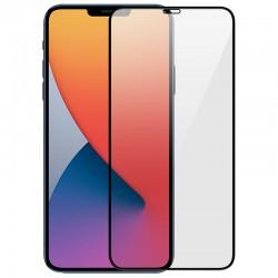 Προστασία Οθόνης iPhone 12/Pro 6.1 Full Cover Black