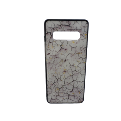 Θήκη Backcover TPU + PC Samsung S10 Plus Marble