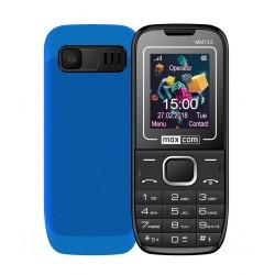 "Maxcom MM135 (Dual Sim) 1,77"" με Κάμερα, Bluetooth, Φακό, Ανοιχτή Ακρόαση και Ραδιόφωνο Μαύρο - Μπλε"
