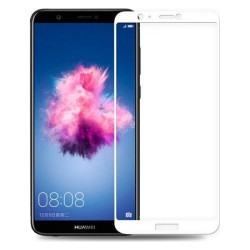 Προστασία Οθόνης Huawei P Smart Full Cover White