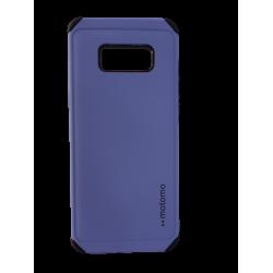 Θήκη Backcover TPU + PC Samsung S8 Mοβ