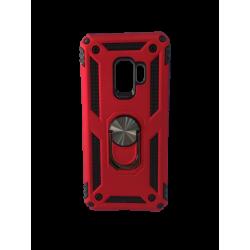 Θήκη Backcover Samsung S9 Κόκκινο με Ring Holder
