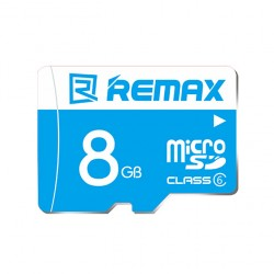 REMAX 8 GB Class 6 Κάρτα μνήμης υψηλής ταχύτητας Micro SD - Μπλε
