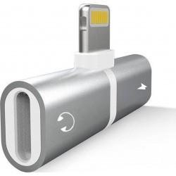 Αντάπτορας iPhone για ακουστικά και φορτιστή